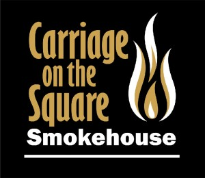 Carriage on the square smokehouse